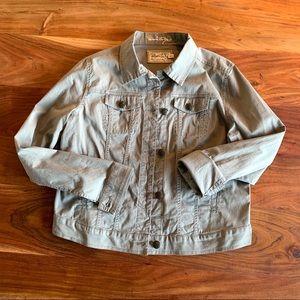 Aventura organic cotton light grey jacket